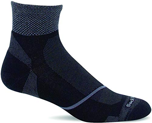 Sockwell Men's Pulse Quarter Firm Compression Sock