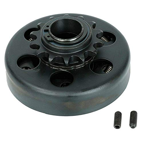 """Centrifugal Go Kart Clutch 1"""" Bore 14T 14 Tooth Fit for 40/41/420 Chain for Mini Bike Go Kart Engine"""