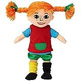 Micki & Friends Pippi Langstrumpf Puppe, 20cm – süße Stoffpuppe für Mädchen und weiche Kuschelpuppe ab 10 Monaten – Anziehpuppe und Plüschpuppe als z.B. Taufgeschenke für Mädchen