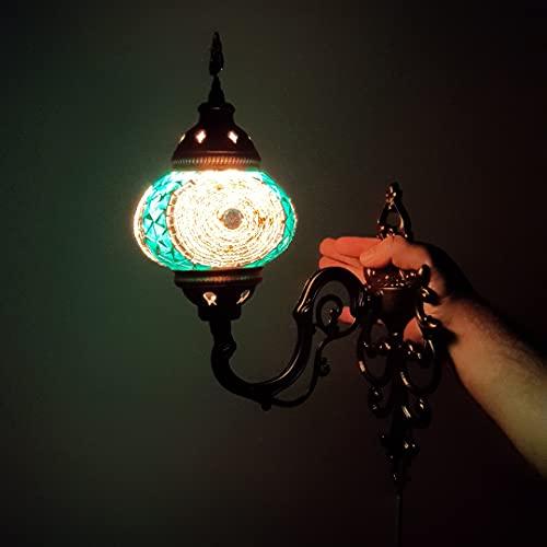 Lámpara de pared oriental / lámpara de pared turca de mosa