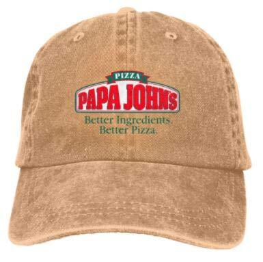 chipo Gorra de béisbol Personalizada Gorras Unisex Pizza-Papa-John