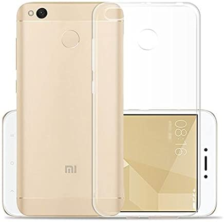 IND Soft Silicone TPU Transparent Back Case Cover For Redmi 4 (2017 New Model)