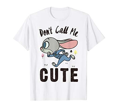 Disney Zootopia Judy Hopps Don't Call Me Cute T-Shirt