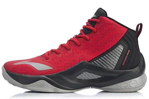 LI-NING Wade All in Team Men Basketball Shoes Lining Professional Male Sport Shoes Sneakers Return On Court Black Red ABPP037-3H US 10.5
