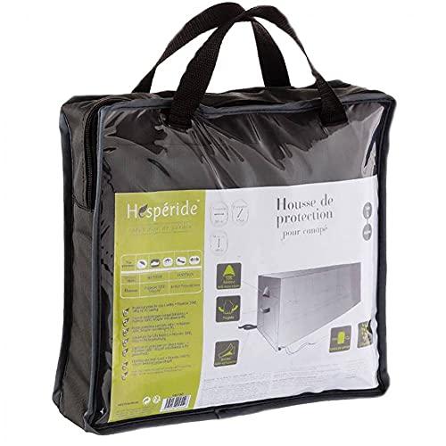 AC-Déco Housse de canapé Taille L - L 260 cm x P 115 cm x H 100 cm - Polyester - Gris