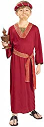 Burgundy Wiseman Child Costume