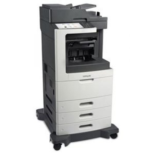 Read About LEXMARK 24T7424 / MX811DTFE Laser Multifunction Printer - Monochrome / Copier, Printer, S...
