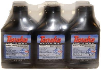 lowest Tanaka Perfect Mix online sale 2-Stroke popular Oil 6.4 oz. Bottle - 6 Pack 700207 sale