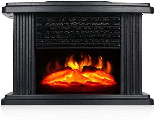 XIANWEI Chimenea Estufa eléctrica con Control Remoto, Calentador Cubierta de Mesa portátil...