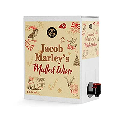 Jacob Marley's Mulled Wine Box, 3 Litre