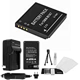 DMW-BCK7 High-Capacity Replacement Battery with Rapid Travel Charger for...