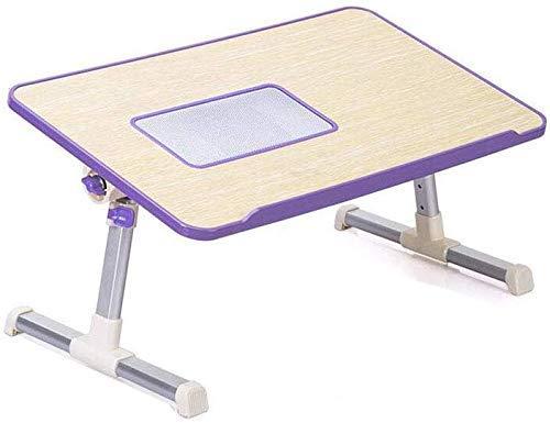 TRYSHA Tafels Desk Practice overhellen hoogte verstelbaar Folding Schraag Portable Laptop Stand Computer Radiating Hole (Kleur: Groen, Maat: 2) Draagbare computerstandaard
