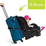 VolkGo Car Seat Travel Belt - Car Seat Travel Strap to Convert Car Seat and Carry-on Rolling Suitcase into an Airport Car Seat Stroller