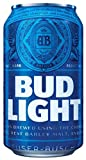 Creative Club Stickers Bud Light Can Sticker Vinyl Beer Pong Decal Funny Budweiser Car Window Laptop (5 Sizes) (14,5 inch)