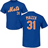 Outerstuff Mike Piazza New York Mets #31 Youth Player Name & Number T-Shirt