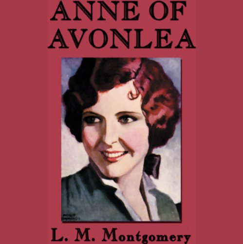 Anne of Avonlea audiobook cover art