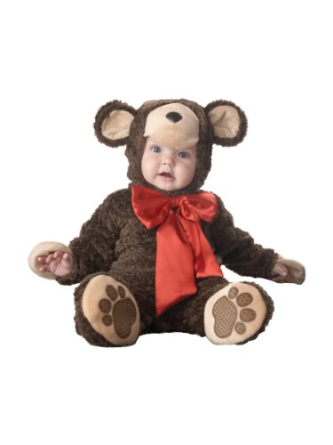 Incharacter Disfraces IC6012-S Elite Lil Teddy Bear Infant Toddler Costume Tama-o Peque-o