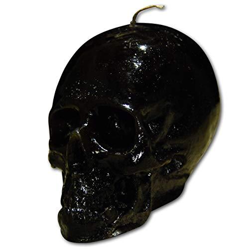 Voodoo Big Skull Candle Black/Red Reversible | Hoodoo – Conjure Schedel Kaars voor het omkeren van vuil | Slechtes to Gutes