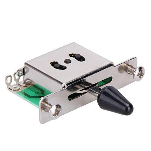 Kleurrijke 5-weg tondeuse voor elektrische gitaar, schakelhendel, verchroomde onderdelen met knop, accessoires voor gitaren, muziekinstrument