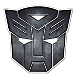 (Set of 3) Autobot Insignia Transformers Decal Sticker - Sticker Graphic - Auto, Wall, Laptop, Cell, Truck Sticker for Windows, Cars, Trucks