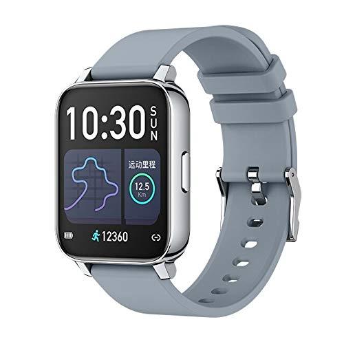 Relógio Inteligente Unissex Smartwatch À Prova D' Água MELANDA P8 Pulseira Coração Pressão Arterial Taxa Múltipla Esporte B57 (Cinza)