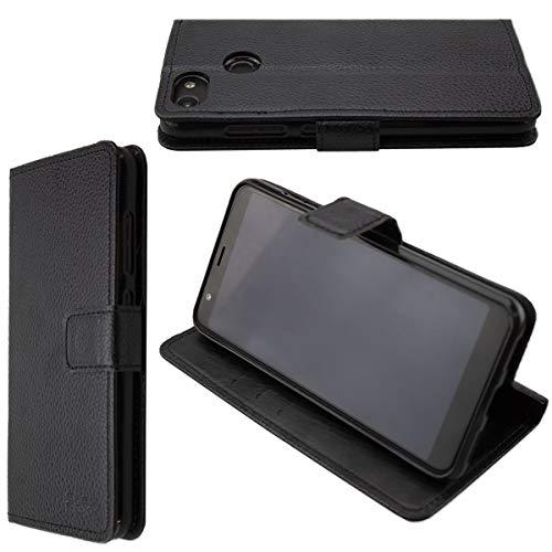 caseroxx Tasche für Gigaset GS280 Bookstyle-Case in schwarz Hülle Buch