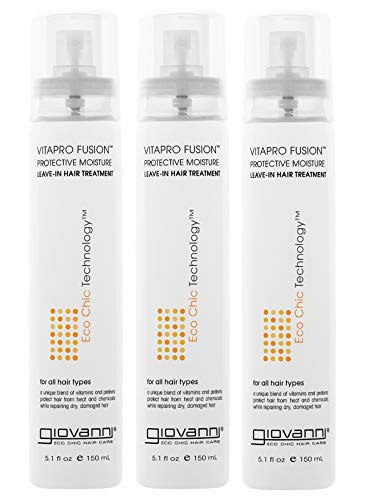 Giovanni Hair Vitapro Fusion Protective Moisture Treatment, 5.1 oz, (3 Pack), Penetrates...