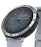 Ringke Air Sports + Bezel Styling Combo Compatibile con Cover Samsung Galaxy Watch Active 2 44mm, Custodia Antiurto TPU e Ghiera Anti Graffio - 30-Black Nero