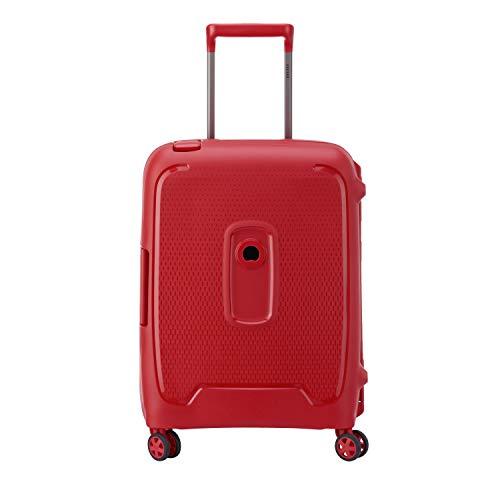 Moncey Delsey - Maleta rígida con 8 Ruedas (55 cm) Rojo Rojo Valise cabine Moncey Delsey 55 cm