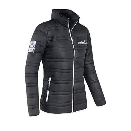 Nebulus Glossy Jacke ALTDORF - Stehkragen, Jacke (Modell: P2229 - Damen, schwarz; Größe: XL) FBA