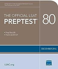 The Official LSAT PrepTest 80: (Dec. 2016 LSAT)