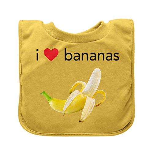 Green Sprouts - Bavoir a enfiler - Jaune Bananas - 9-18m