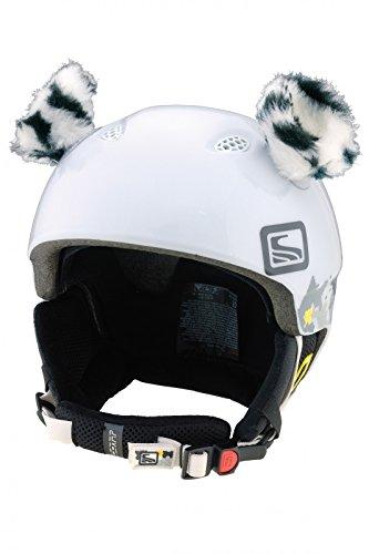 Crazy Ears Casco Accesorios de Abeja Teddy Ratón Gato. Esquí de Orejas Adecuado para Casco de esquí Moto Casco de Bicicleta para Casco y Mucho más. Casco Decoración para niños y Adultos