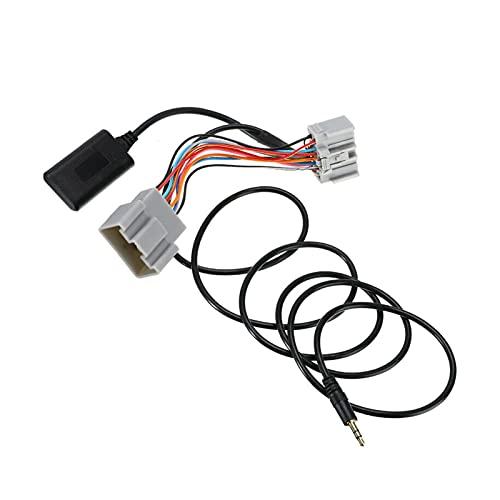 PINGYAYANG Nuevo vehículo de Cable de Audio Bluetooth de 12V 14PIN Auxiliar Adaptador Apto para Volvo C30 S40 V40 V50 S60 S70 C70 Accesorios de Auto