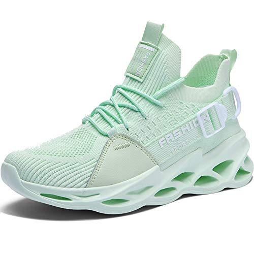XINBEIGE Men's Sneakers Non Slip Gym Lightweight Breathable Athletic Running Walking Tennis Shoes
