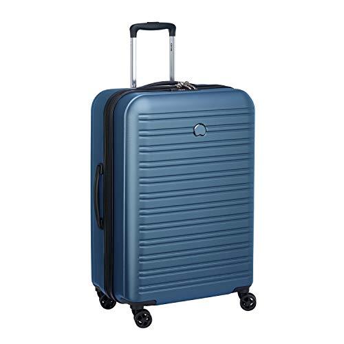 Delsey Paris SEGUR 2.0 Hand Luggage, 70 cm, 105 liters, Blue (Blau)