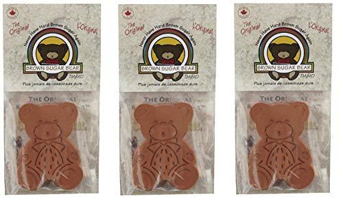 Brown Sugar Bear 54923 Original Brown Sugar Saver and Softener, Single, Pack of 3