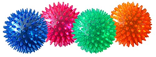 PetSport Gorilla Ball Scented, Super Durable, Ultra Light and Ultra Bouncy Dog Toy for Small, Medium and Large Dogs, Assorted Colors (4' Large Gorilla Ball)