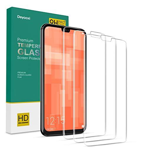 Deyooxi 3 Pezzi Vetro Temperato per Huawei P20 Lite,Pellicola Protettiva in Vetro Temperato Screen Protector Film per Huawei P20 Lite,Protezione Schermo,Anti-graffio,Anti-Impronta