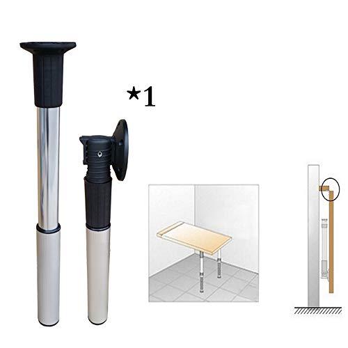 table leg WYZQQ Verstellbare Tischbeine, klappbarer Tischfuß, teleskopierbare Möbelbeine