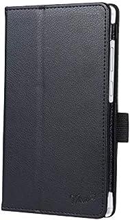wisers タッチペン・保護フィルム付 Lenovo Tab M7 ケース カバー レノボ ZA550154JP ZA550230JP 7.0インチ タブレットケース [2019 2020 年 新型] ブラック