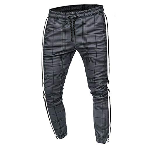 Cinnamou Homme Jogging Pantalon de Sport Jogger Survêtement Coton Slim Fit Casual Militaire Cargo Montagne Baggy Pants