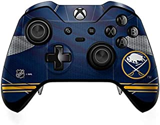 Skinit Decal Gaming Skin for Xbox One Elite Controller - Officially Licensed NHL Buffalo Sabres Home Jersey Design