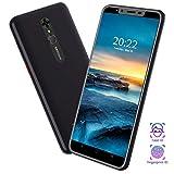 cellulare offerta 4g wifi(2020), 5.5'' cellulari e smartphone 8+5mp 4800mah cellulari offerte 128gb espandibili 1gb+16gb android 9.0 dual sim telefonia mobile
