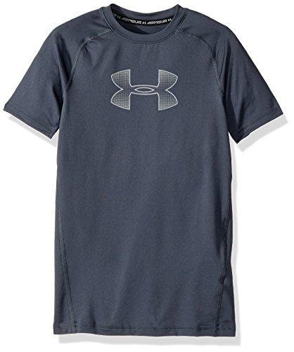 Under Armour chicos 'ss camiseta de manga corta, Niños, color rojo, tamaño Youth/Small