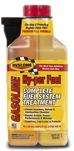 Rislone 4700 Complete Gasoline Fuel System Treatment 16.9 oz. , Yellow