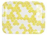 CREATIVE TOPS Ott Bandeja pequeña para servir con diseño de abeja, melamina