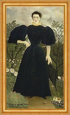 Kunstdruck Henri Rousseau 02256 - Pulsera para mujer (tamaño M, A3)