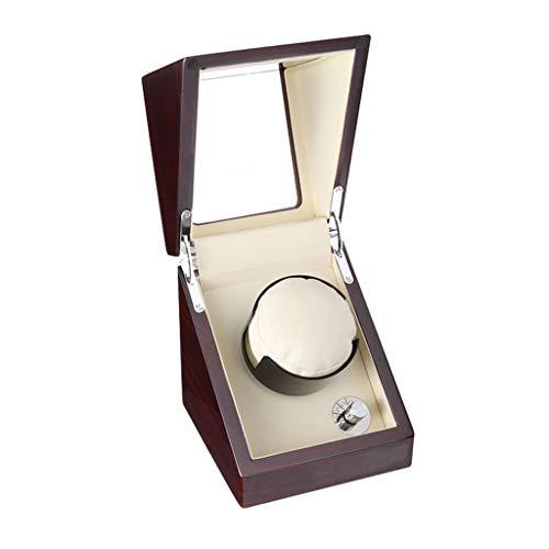 Oksmsa Soltero Cajas Giratorias for Relojes Automatico, Pintura for Piano Bobinadora for Relojes, 4 Modos, Motor Silencioso, 100% Hecho A Mano (Color : B)