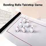 Jeu De Table Compact De Boules De Bowling Jeu De Boules De Bowling Compact Pour Enfants Et Adultes, Jeu Familial Interactif Pour Les Pique-niques À La Maison, Facile À Configurer